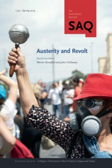 Austerity and Revolt, Paperback / softback Book