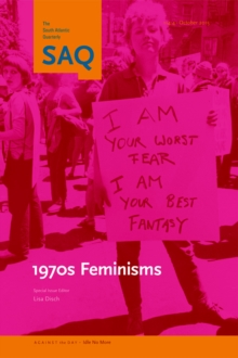 1970s Feminisms, Paperback / softback Book