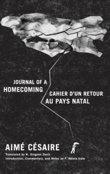 Journal of a Homecoming / Cahier d'un retour au pays natal, Hardback Book