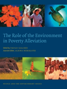 The Role of the Environment in Poverty Alleviation, Hardback Book