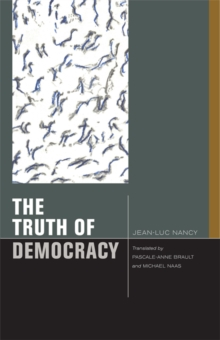 The Truth of Democracy, Hardback Book