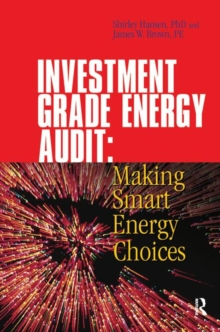 Investment Grade Energy Audit, Hardback Book