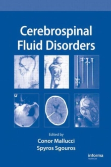 Cerebrospinal Fluid Disorders, Hardback Book