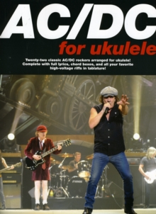 AC/DC For Ukulele, Paperback / softback Book