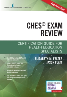 Certified Health Education Specialist (CHES) Exam Study Guide, Paperback / softback Book