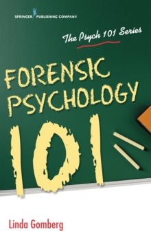 Forensic Psychology 101, Paperback Book