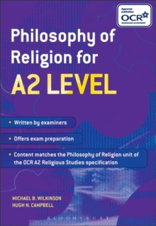 Philosophy of Religion for A2 Level, Paperback / softback Book