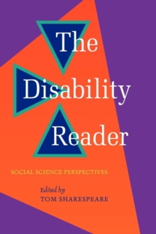 The Disability Reader, Paperback Book