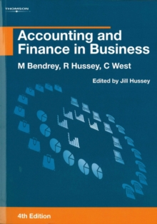 Accounting and Finance in Business, Paperback Book