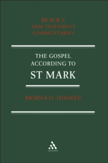 Gospel according to St Mark, Paperback / softback Book