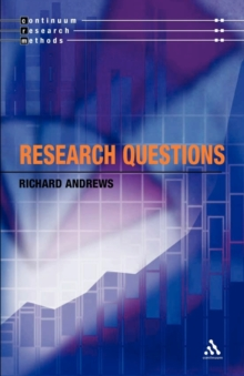 Research Questions, Paperback / softback Book