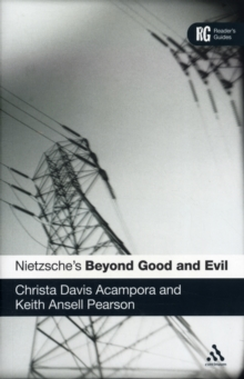 Nietzsche's Beyond Good and Evil : A Reader's Guide, Paperback Book