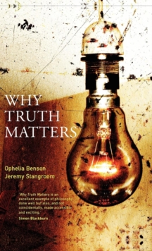Why Truth Matters, Hardback Book