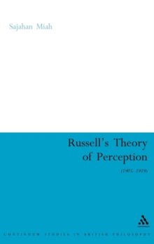 Russell's Theory of Perception, Hardback Book