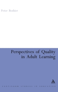 Perspectives of Quality in Adult Learning, Hardback Book