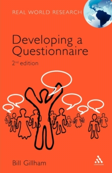 Developing a Questionnaire, Paperback Book