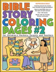 Bible Story Coloring Pages #2, Paperback Book