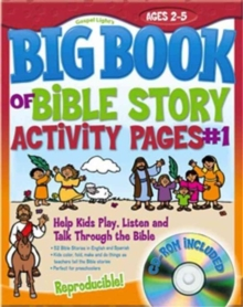 Big Book of Bible Story Activity Pages #1 : Help Kids Play, Listen and Talk Through the Bible, Mixed media product Book