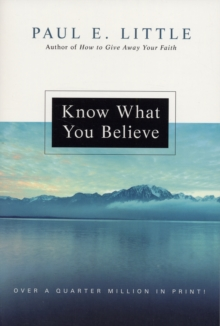 Know What You Believe, Paperback / softback Book