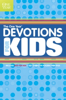 The One Year Book of Devotions for Kids, Paperback / softback Book