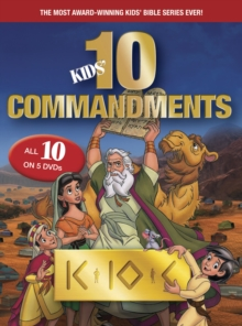 Kids Ten Commandments The Complete Collection, DVD video Book