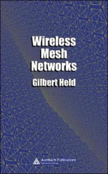 Wireless Mesh Networks, Hardback Book