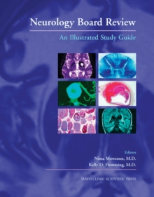 Neurology Board Review : An Illustrated Study Guide, Hardback Book