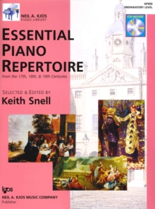 Essential Piano Repertoire Prep Level, Sheet music Book