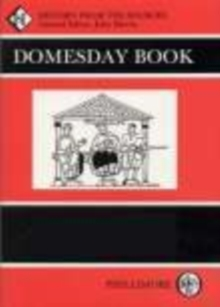 Domesday Book Bedfordshire : History From the Sources, Paperback / softback Book