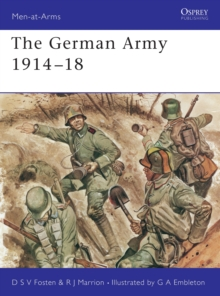 The German Army, 1914-18, Paperback Book