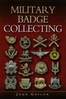 Military Badge Collecting, Hardback Book