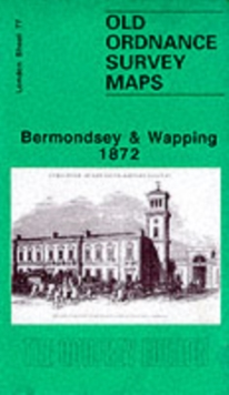 Bermondsey and Wapping 1872 : London Sheet 077.1, Sheet map, folded Book