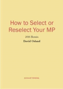 How to Select or Reselect Your MP : 2016 Remix, Pamphlet Book