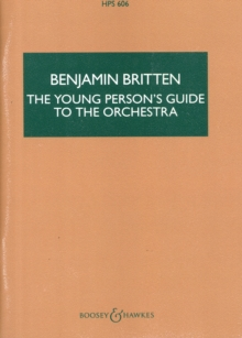 Young Person's Guide to the Orchestra (Hps), Paperback Book
