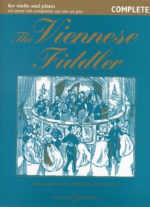 Viennese Fiddler (Violin/Piano), Paperback Book