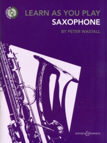Learn As You Play Saxophone, Mixed media product Book