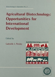 Agricultural Biotechnology : Opportunities for International Development, Hardback Book