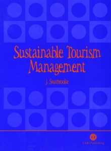 Sustainable Tourism Managemen, Paperback Book