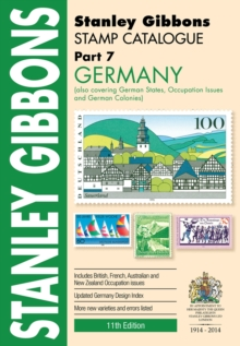 STAMP CATALOGUE PART 7 GERMANY, Paperback Book