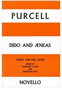 Henry Purcell : Dido And Aeneas - Vocal Score, Paperback / softback Book
