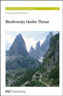 Biodiversity Under Threat, Hardback Book