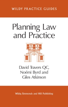 Planning Law and Practice, Paperback / softback Book