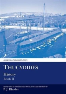 Thucydides History Book II, Paperback / softback Book