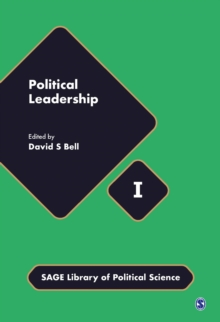 Political Leadership, Hardback Book