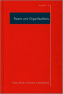 Power and Organizations, Hardback Book
