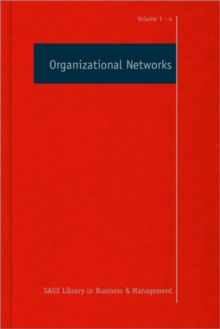 Organizational Networks, Hardback Book