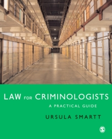 Law for Criminologists : A Practical Guide, PDF eBook