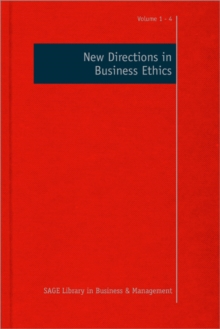 New Directions in Business Ethics, Hardback Book