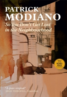 So You Don't Get Lost in the Neighbourhood, Hardback Book