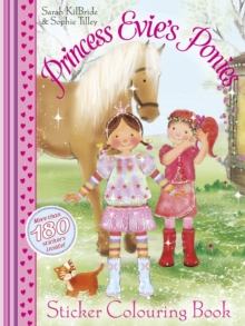 Princess Evie Sticker Colouring Book, Paperback Book